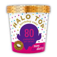 Non Dairy Birthday Cake Halo Top Low Calorie